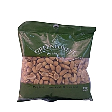 Peeled, Roasted and Salted Peanuts, 200g