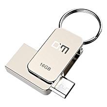 Enjoy DM PD020 USB Flash Drive, 16GB Metal OTG Pendrive High Speed USB Memory Stick 32GB pen Drive Real Capacity 8GB USB Flash U disk