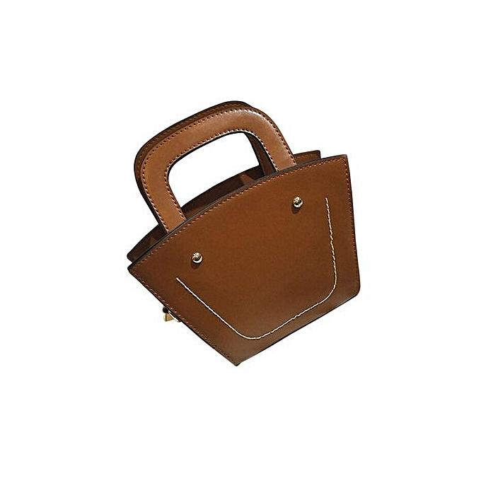 4a3026a16db Rinicken New Fashion Big Bag Women Shoulder Messenger Bag Ladies Handbag  BW-Brown