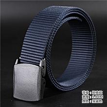 Tank canvas belt outdoor leisure quick-drying belt(110cm)-Royal blue