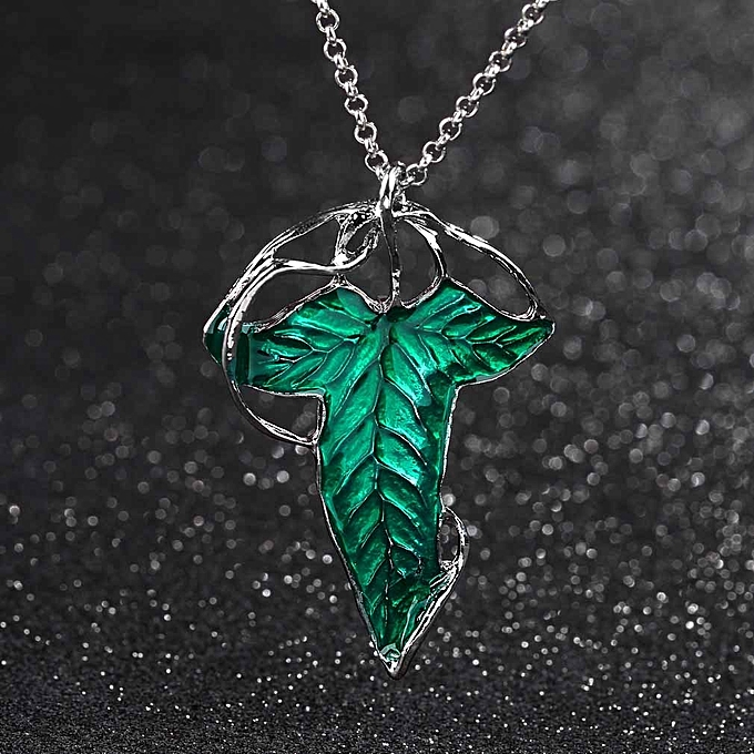 Buy allwin lord of the rings green leaf elven pin brooch pendant lord of the rings green leaf elven pin brooch pendant with chain necklace aloadofball Images