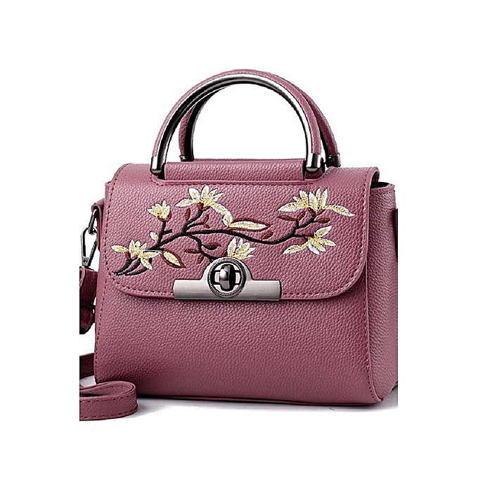 62f053682a BlackMiddle age women s bag 2018 new Ms. Kuan s hands carry female packet  of inclined Ku ...