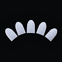 5pcs Silicon UV Gel Polish Remover Acrylic Nail Art Wrap Cleaner Clip Caps