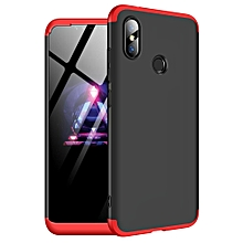 For Redmi Note 6Pro Case, 3 In 1 Ultra Thin Anti-Scratch 360 Degree Full Protection Hard Slim PC Cover Shockproof Case for Xiaomi Redmi Note 6 Pro