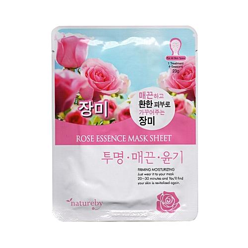 Korean Rose Essence Mask Sheet