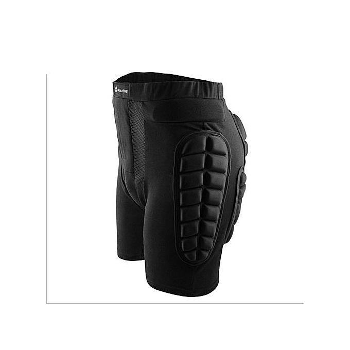 8ed7dd8df116 ... UL Protective Hip Pad Shorts Drop Resistance Skiing Skateboarding  Outerwear Pants Black
