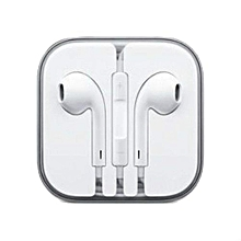 New Apple Earphone with Mic and Remote for Apple iPhone iPod iPad (White)