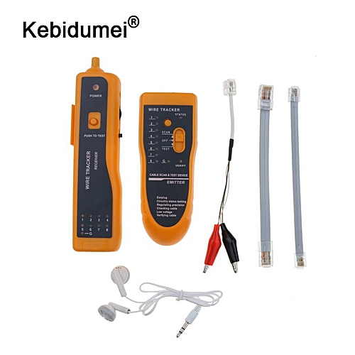 generic kebidumei network ethernet cable tester rj45 kit rj45 crimper  crimping tool punch down rj11 cat5 cat6 wire line detector