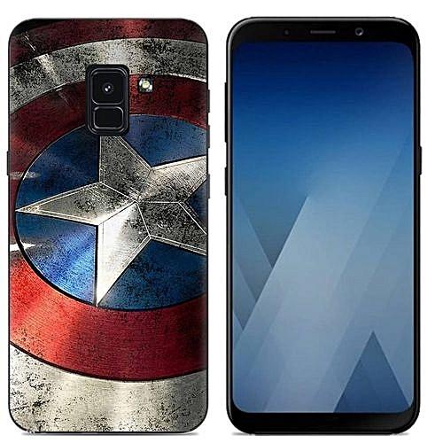buy popular e2abc e607b Samsung Galaxy A8(2018)/A5(2018)(3PCS X Phone Case) Silicone Case, TPU  Anti-knock Phone Back Cover For Samsung Galaxy A8(2018)/Samsung Galaxy  A5(2018) ...