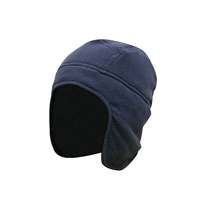69a1532c91096 Wenrenmok Store Mens Women Winter Outdoor Solid Color Fleece Earflap Hat  Caps Ears Warm Hat-