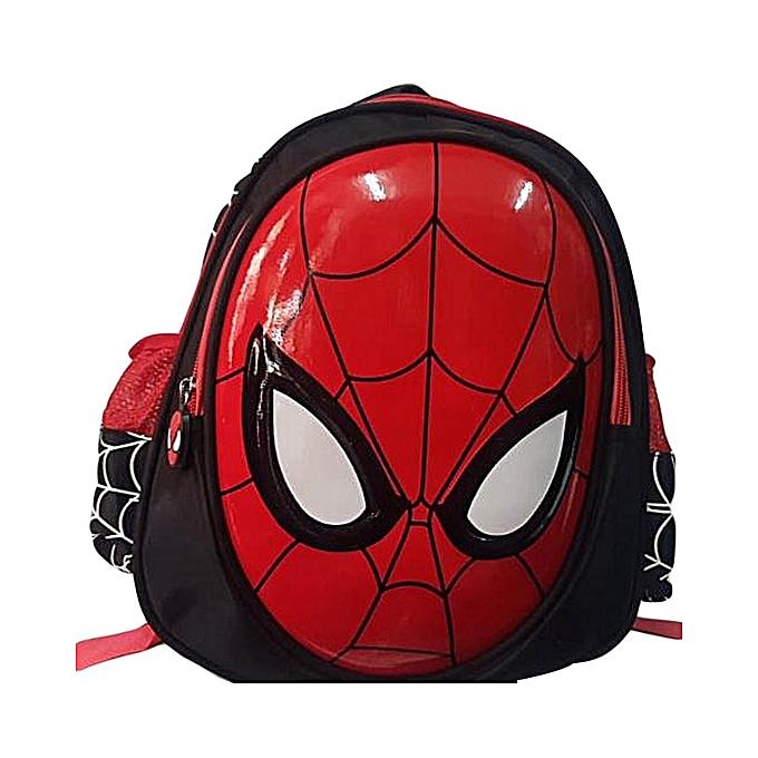 Spiderman School Bag - Pre schooler size