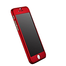 IPhone 5/5S 360° Full Protective Case - Red