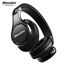 Bluedio UFO Bluetooth Headphones Wireless headset with Mic(Black)