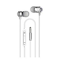 HS625 Earphones - Silver