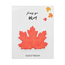 Cute Sticky Notes Paper Leaves Stickers Note Sticker Paper Memo Pad Stationery