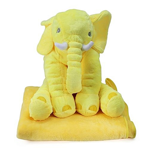 Buy Generic Stuffed Cute Simulation Giant Elephant Plush Doll Toy
