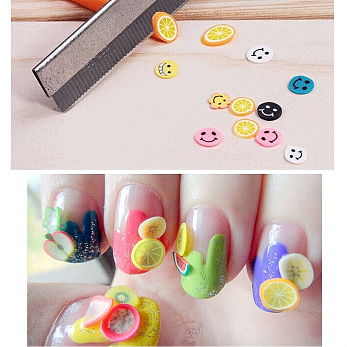 Buy Zlime 50pcs 3d Nail Art Fimo Canes Stick Rods Polymer Clay