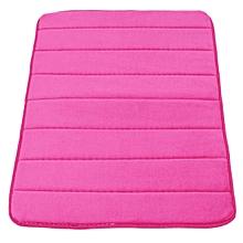 Memory Foam Bath Bathroom Bedroom Floor Shower Mat Rug Non-slip Water Absorbent Rose-red