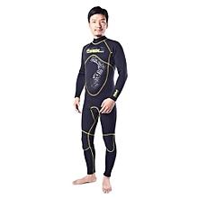 3mm Men Neoprene Wetsuit Diving Winter Swimming Surfing Windsurfing Snorkelling Full Bodysuit Swimwear
