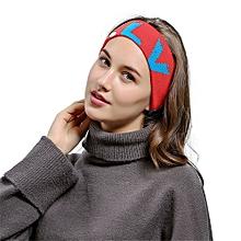 Men Women Hair ball Knitting Headband Elastic Handmade Sport Hair Band Turban