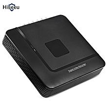 A1004N 1080N 4CH 5 In 1 Mini DVR VGA HDMI Security System For CCTV Kit IP Camera-Black