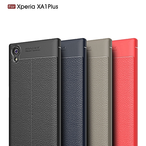 low priced 76eba 08b5b For Sony Xperia XA1 Plus Case Cover Luxury Shockproof Silicone Rubber Phone  Cases For Sony Xperia XA1 Plus Cover Case 578644 c-2 (Color:Main Picture)