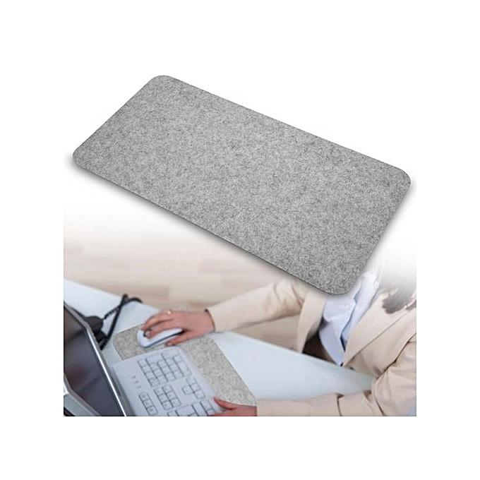 ... 68x33cm Felts Table Mouse Pad Office Desk Laptop Mat Anti-static Computer PC Pads Dark