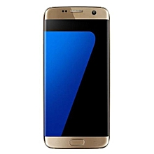 Real Full Coverage Tempered Glass Film Protector For Samsung Galaxy S7 Edge Gold