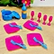Dolls Accessories Pretend Play Furniture Set Toys For Barbie Dolls As Xmas Gifts For Kids Style:living Room