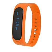 Universal Waterproof Intelligent Sport Minitoring Wristband Smart Bracelet yellow