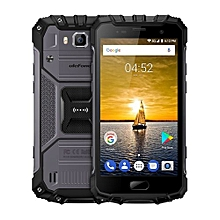 Armor 2 Triple Proofing Phone, 6GB+64GB IP68 Waterproof Dustproof Shockproof 5.0 Inch Sharp Android 7.0 MTK Helio P25 Octa Core 64-bit 2.6GHz Dual SIM 4G Smartphone(Dark Grey)