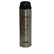 Stainless Steel 600ml Vacuum Bottle - SBK - With Safety Lock