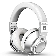 Bluedio V (Victory) High-End Bluetooth Headphones/wireless Headset PPS12 Drivers With Microphone Wireless Headphones(White)