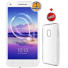5047-U5HD-16 GB ROM-2 GB RAM 4 G-DUAL NANO SIM-METALLIC GOLD+FREE silicon cover
