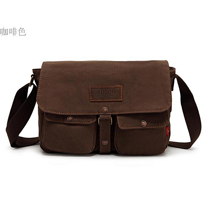 New Army Style Canvas Men S Bags Vintage Messenger Shoulder Bag
