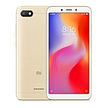 Xiaomi Redmi 6A, 2GB+16GB, Global Official Version, Face Identification, 5.45 inch MIUI 9.0 Helio A22 Quad Core up to 2.0GHz, Network: 4G(Gold)
