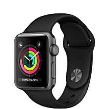 Watch Series 3 GPS 38mm Space Gray Aluminum Case With Black Sport Band