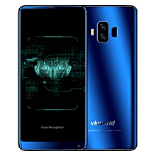 VKworld S8, 4GB+64GB, Dual Back Cameras, Face & Fingerprint Identification, 5500mAh Battery, 5.99 inch Full Screen Android 7.0 MTK6750T Octa Core up to 1.5GHz, Network: 4G, Dual SIM(Blue)