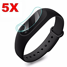 5pcs/set Protective Film Anti-Scratch Screen Protector Smart Wristband Ultra-Thin For XiaoMi Band