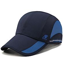 Unisex Mesh Baseball Caps Outdooors Sports Quick Drying Hat Casual Fishing Hats