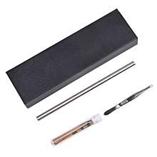 Hair Trimmers Engraved Razor Pen Stainless Steel Pen Shaving Eyebrows Tweezers box packaged