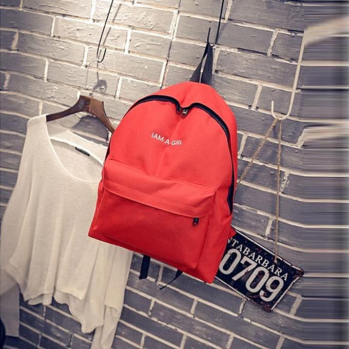 koaisd Unisex Boys Girls Canvas Rucksack Backpack School Book Shoulder Bag  RD 2496634678