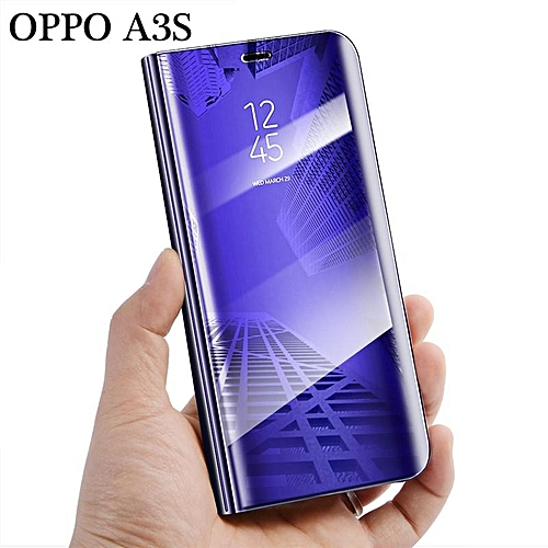 the latest 54832 d69e6 Smart Flip Cover For OPPO A3s/a5 Stand Phone Case