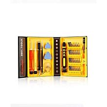 KS3801 - Repair Tool Kit Screwdrivers For Smartphones 38-in-1 - Colormix