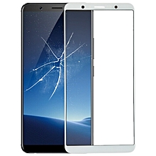 Front Screen Outer Glass Lens for Vivo X20(White)