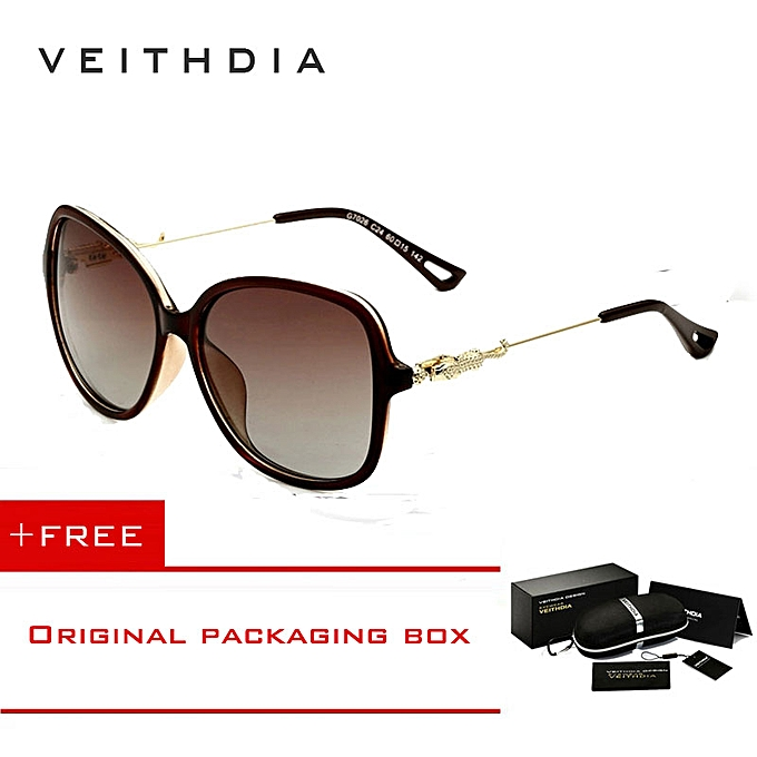 591946f148 VEITHDIA Brand Retro TR90 Womens Sun Glasses Polarized Ladies Designer  Sunglasses Eyewear Accessories For Women Women