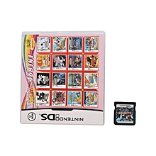 CO 468/488/502/520 In 1 Video Game Multi Cart Cartridge for Nintendo DS 3DS-Black