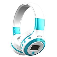 B19 LCD Display HiFi Bass Stereo Wireless Bluetooth Headphone With Microphone, FM Radio, Micro-SD Card Slot