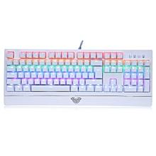 AULA 104-key LED Backlit Mechanical Gaming Keyboard-WHITE