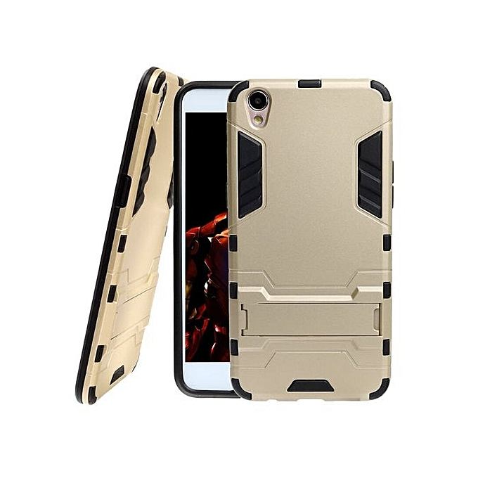 Hybrid TPU+PC Iron Man Armor Shield Case For OPPO F1 Plus / R9 .
